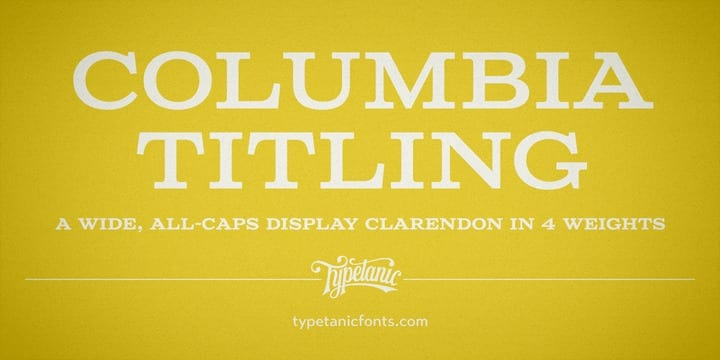 1167791 - Columbia Titling (40% discount, from 11,99€)