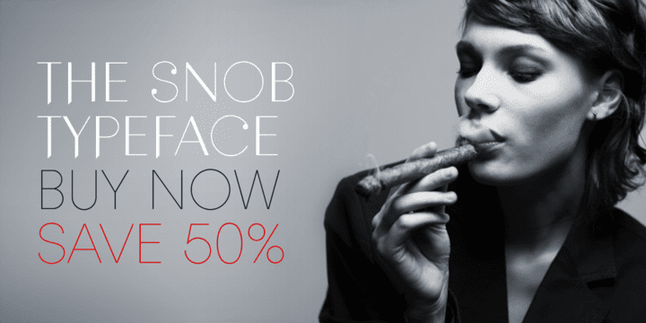 120705 - Snob (50% discount, from 12,82€)