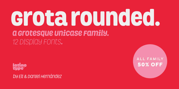 129450 - Grota Rounded (30% discount, from 16,09€)