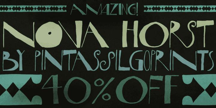 129478 - Nova Horst (40% discount, 17,99€)