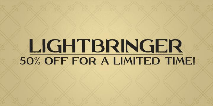 129490 - Lightbringer (50% discount, $6.50)