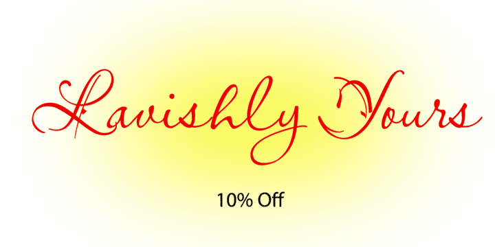 129985 - Lavishly Yours (10% discount, $22.46)