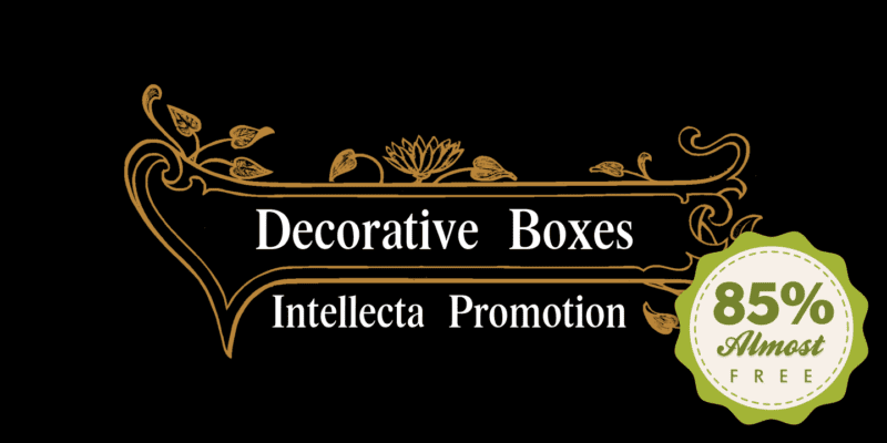 1308251 800x400 - Decorative Boxes (85% discount, from $3.14)