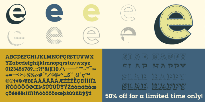 131091 - Slab Happy (50% discount, from 2€)