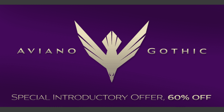 131850 - Aviano Gothic (60% discount, from $8.80)