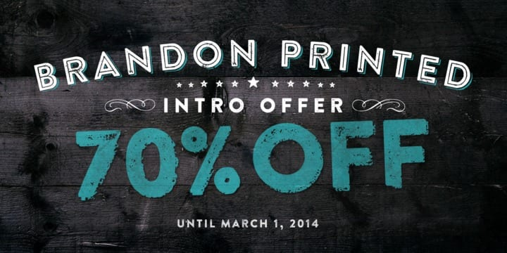 131937 - Brandon Printed (70% discount, complete 20,51€)