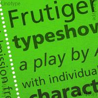 Frutiger (BEST sellers)