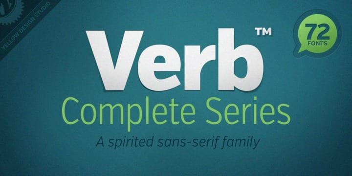 123192 - Verb (HOT font)