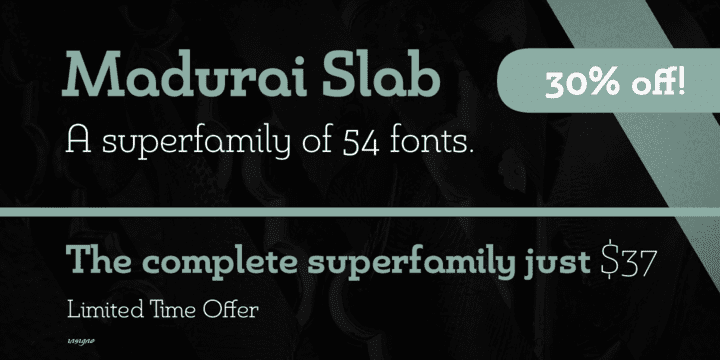 124130 - Madurai Slab (30% discount, family $17.02)