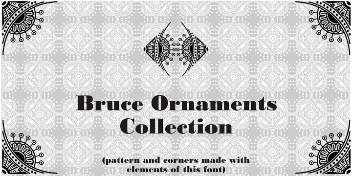 125268 - Bruce Ornaments Collection (30% discount, 7,69€)