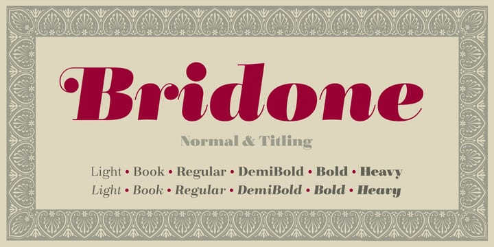 Bridone (BEST sellers)