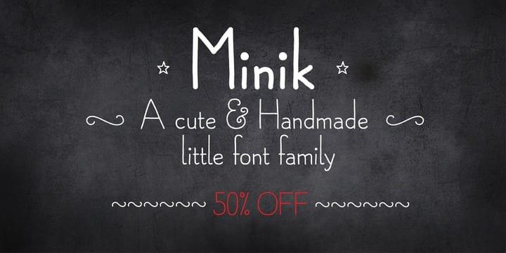 131183 - Minik (50% disount, from 6€)