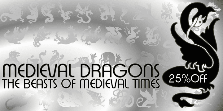 131808 - Medieval Dragons (25% discount, $11.25)