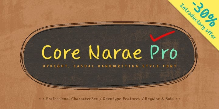 131846 - Core Narae Pro (30% discount, from $17.50)