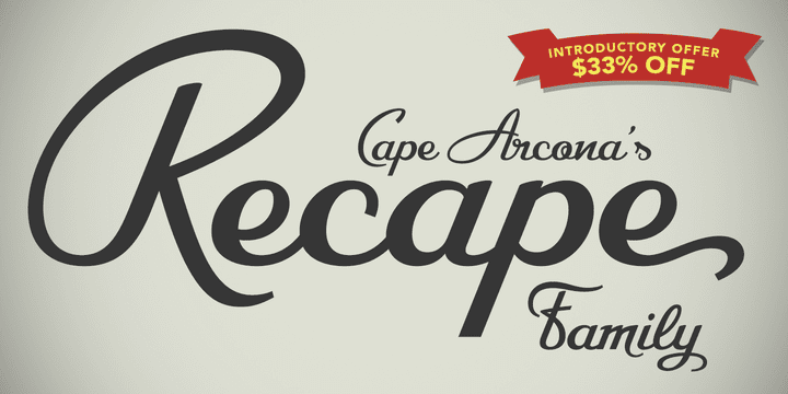 133603 - CA Recape (33% discount, family 28,14 €)