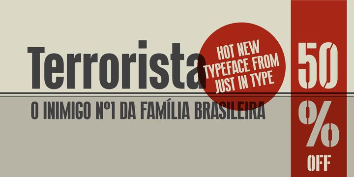 133956 - Terrorista (50% discount, from 7,00 €)