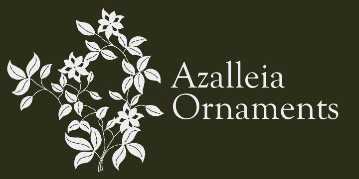 70075 - Azalleia Ornaments (20% discount, from $18.32)