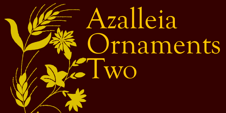 70089 - Azalleia Ornaments (20% discount, from $18.32)
