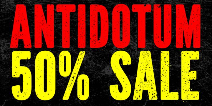 92472 - Antidotum (50% discount, 8€)