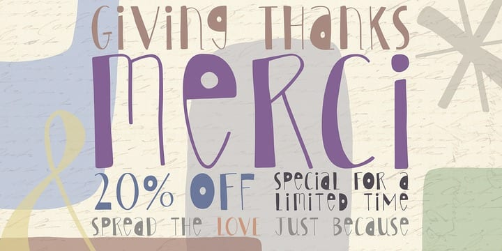 106796 - Merci (20% discount, 11,19€)