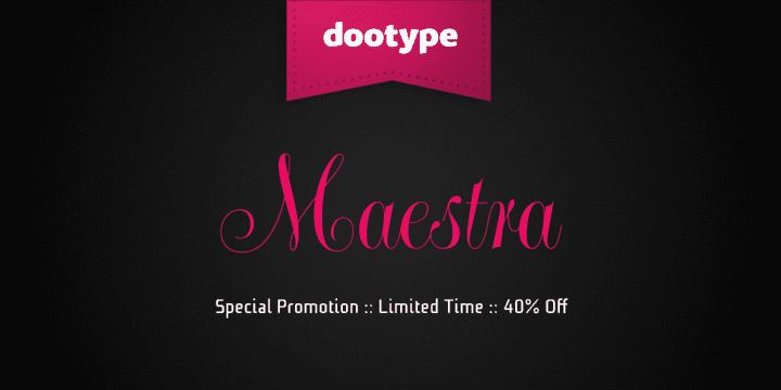 136399 - Maestra (50% discount, from 12€)