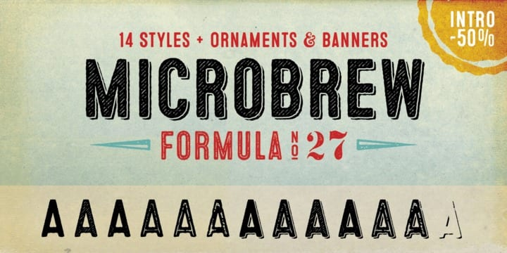 137335 - Microbrew (50% discount, family 17,50 €)