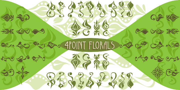58600 - 4 Point Florals (30% discount, 9,80 €)