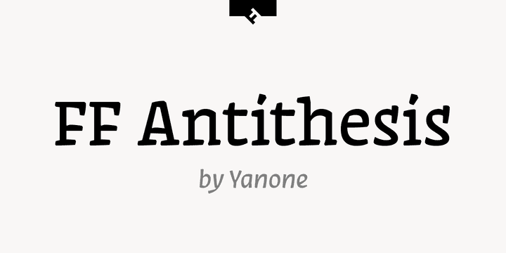138923 - FF Antithesis (NEW font)