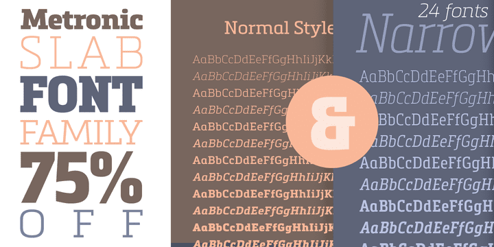 139097 - Metronic Slab Pro (75% discount, family 44,00 €, complete family 67,75 €)