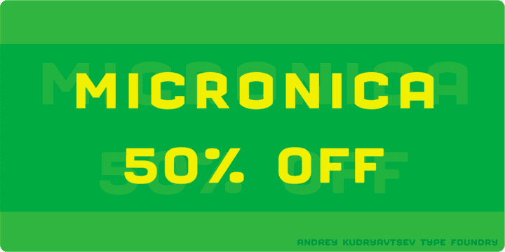 102751 - Micronica (50% discount, from 1,50 €)