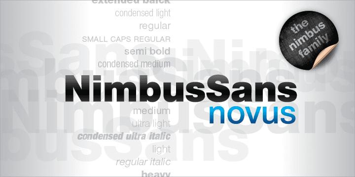 Nimbus Sans Novus (BEST sellers)