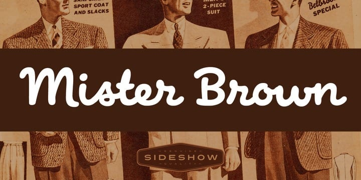 127174 - Mister Brown (HOT font)