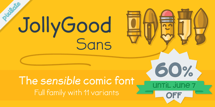 140001 - JollyGood Sans (60% discount, from 0€)
