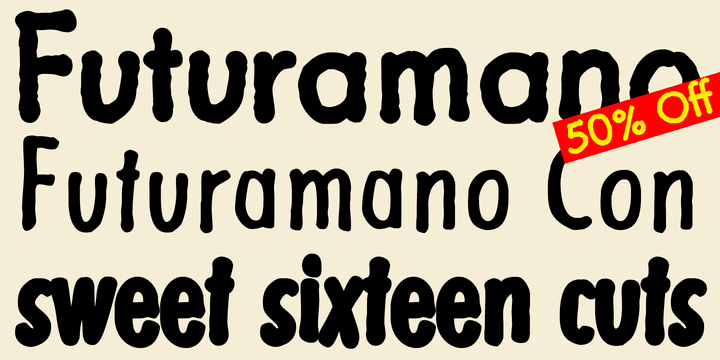 142271 - Futuramano (50% discount, from 13,50 €)