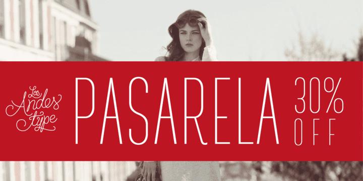 143027 - Pasarela (30% discount, from 9,79€)