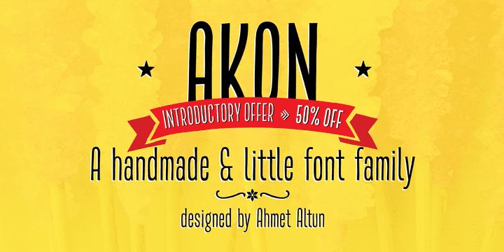 144418 - Akon (50% discount, family 6,50€)