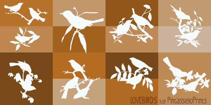 36333 - Love Birds (20% discount, 13,59 €)