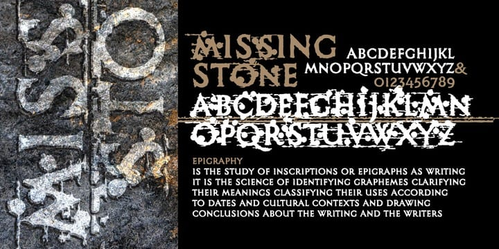 115703 - Missing Stone (75% discount, 6,25€)