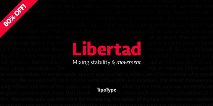 142303 - Libertad (80% discount, family 32,80€)