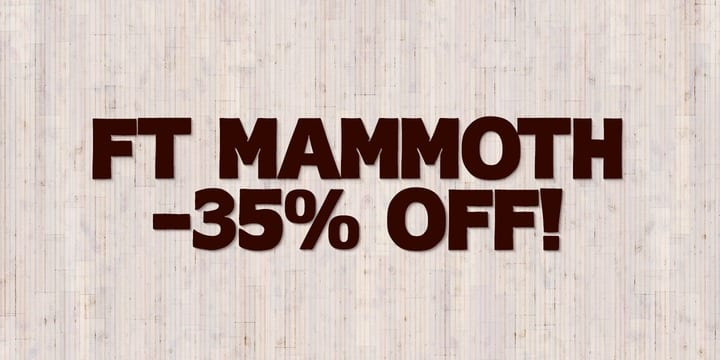 143094 - FT Mammoth (35% discount, from 8,44€)
