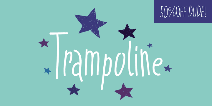 143533 - Trampoline (50% discount, 8,50€)