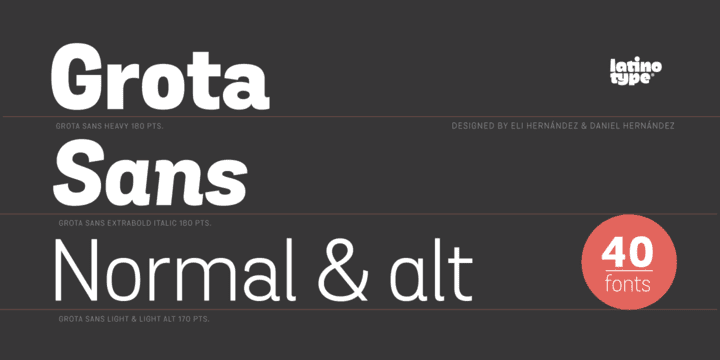 146127 - Grota Sans (30% discount, from 13,99€)