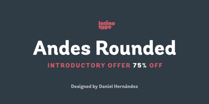 144405 - Andes Rounded (75% discount, family 33€