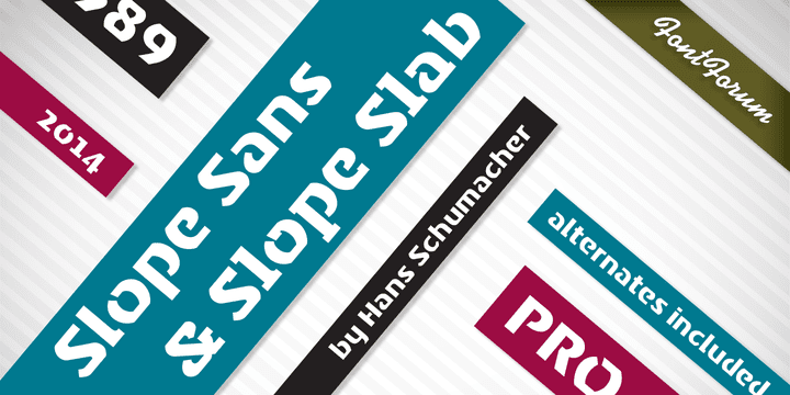 147059 - Slope Sans (50% discount, 12,50€)