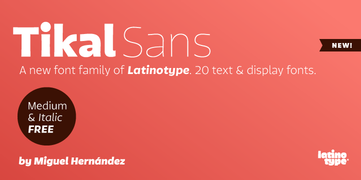 77245 - Tikal Sans (30% discount, from 0€)