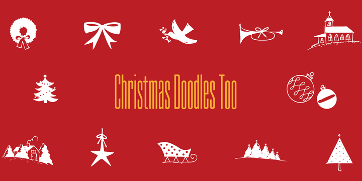124096 - Christmas Doodles Too (25% discount, 10,50€)