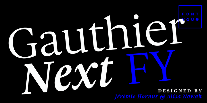 142080 - Gauthier Next FY (50% discount, from 25€)