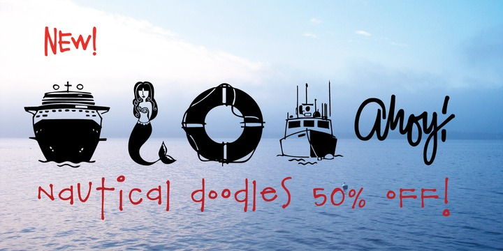 148425 - Nautical Doodles (50% discount, 10,50€)