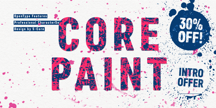 153032 - Core Paint (30% discount, family 36,39€)