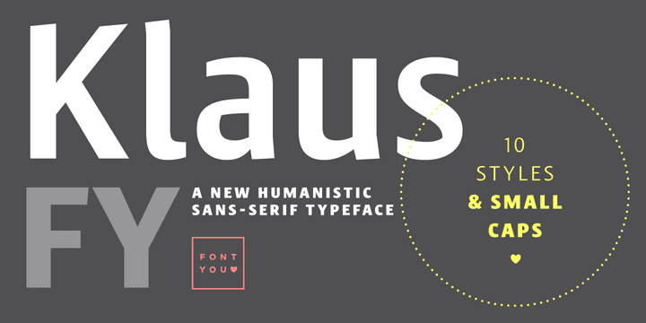 127953 - Klaus FY (45% discount, from 27,50€)